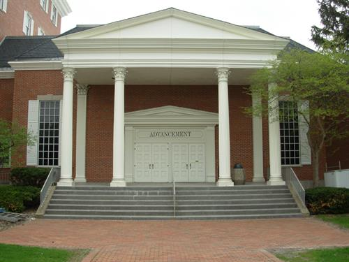 Example Exterior Commercial Work - Columns
