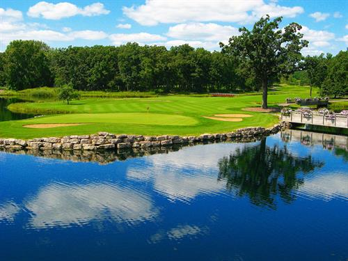 Lakeside No. 9 at Cantigny Golf