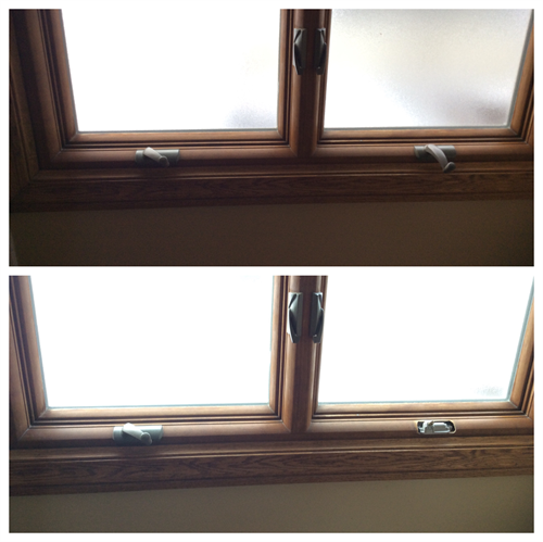 Install new cranks on window