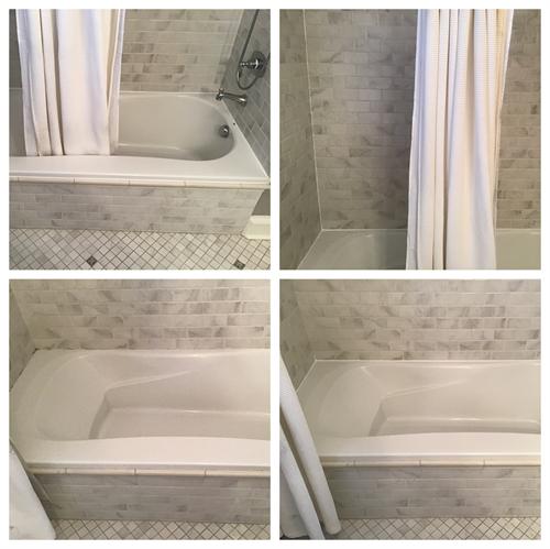 Re-caulk around your bathtub