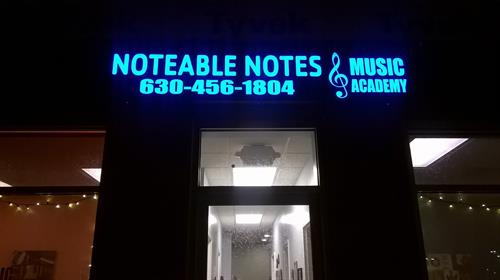 Front door to Noteable Notes!