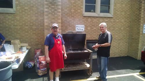 Knights of Columbus Serve-up Annual BB-Q for Clare Woods Students and Staff