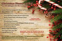 Christmas Dinner to Go!