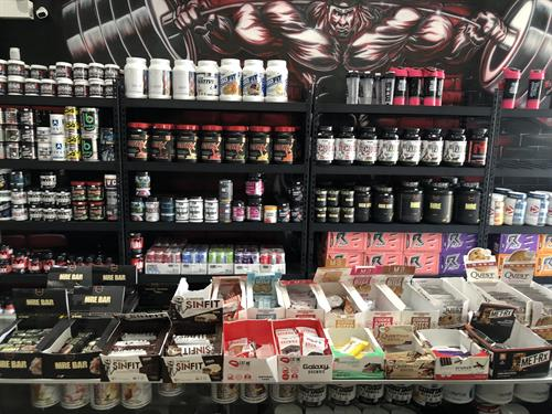 Nutrition store on site