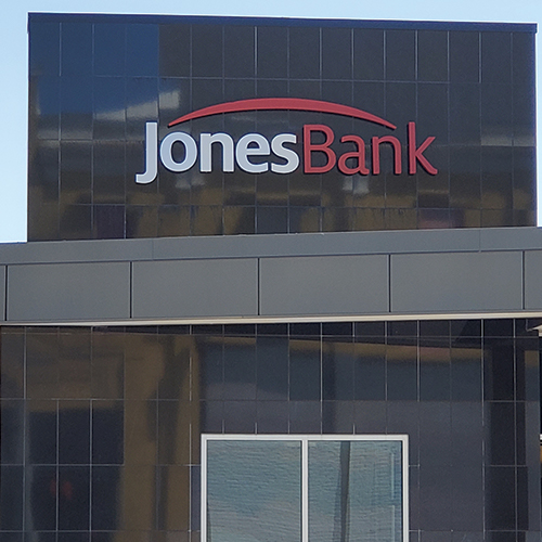 Main Bank Granite Sign