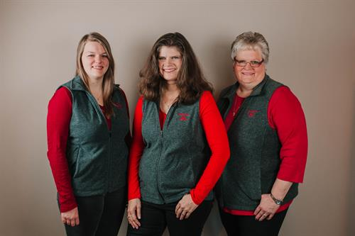 State Farm Team:  Malynn, Brenda and Cathy
