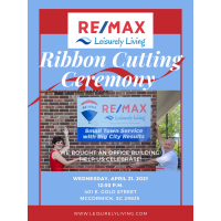 RE/MAX Ribbon Cutting/Grand Opening