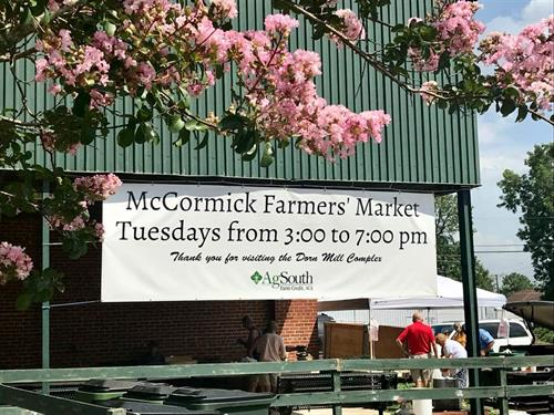 Farnmer's Market at the Dorn Mill Complex