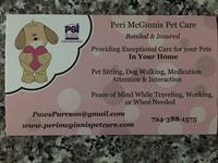 Peri McGinnis Pet Care