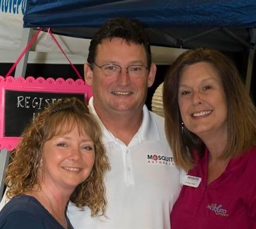 Meet the owners Stacey, Kenneth, & Andrea