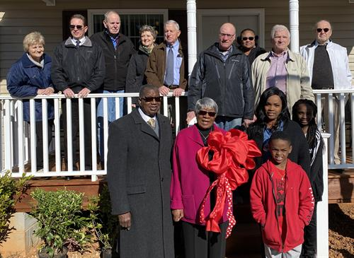 Harrison Family Home Dedication Ceremony  2/15/2020