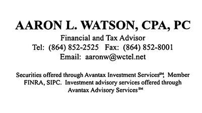 Aaron L. Watson CPA