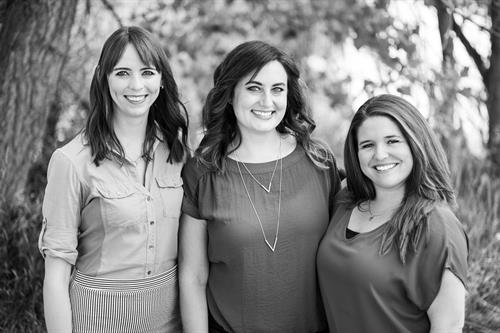 The Partners at Dynamic Healing (Emily, Cheryl & Brittany)