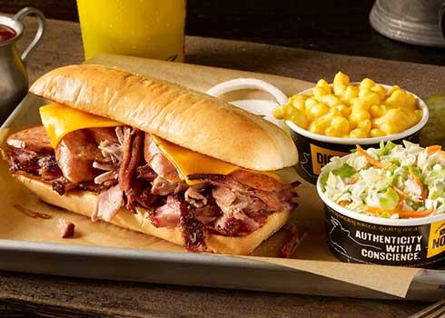 Western Sandwich Plate