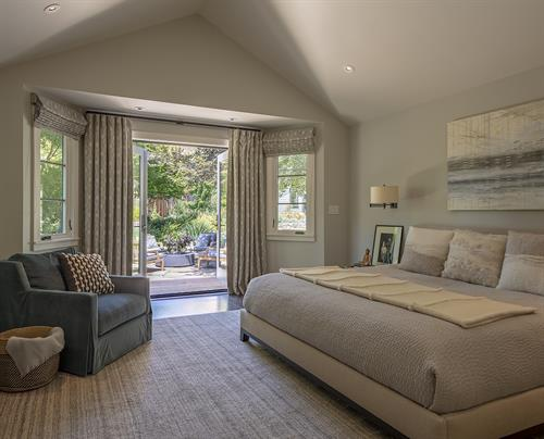 California Rancher Master Bedroom