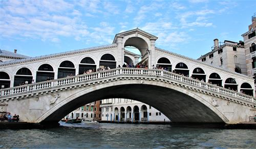 Rialto Bridge Venice, Italy