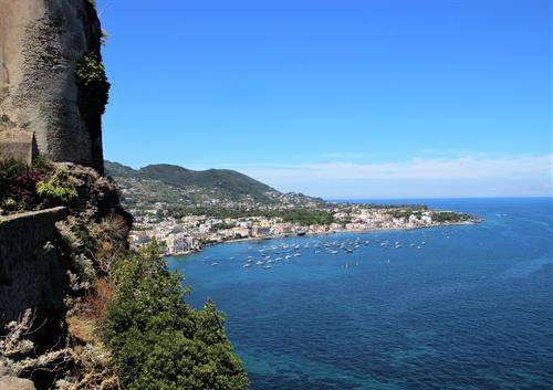 The Island of Ischia near Naples, Italy