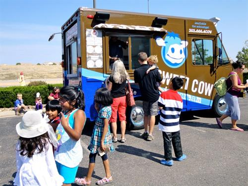 Sweet Cow at the Free Community Carnival