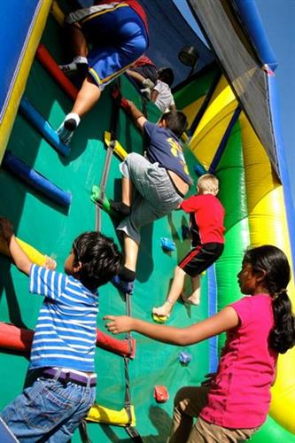 Obstacle Course at Free Community Carnival