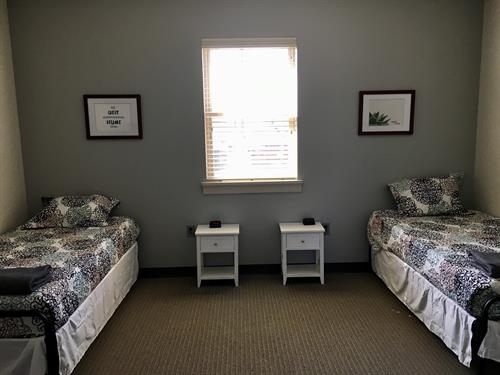 Wellness Residential Center Bedroom