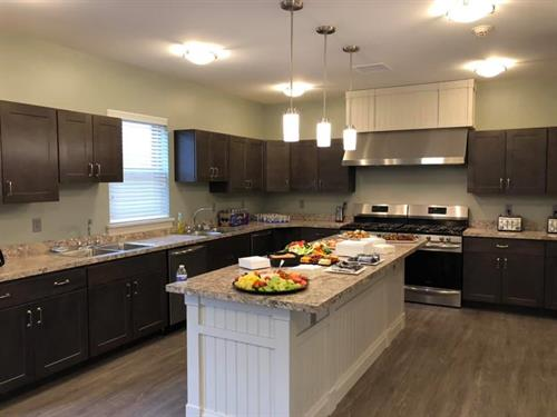 Wellness Residential Center Kitchen