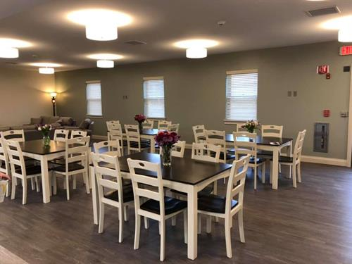 Wellness Residential Center Dining Room