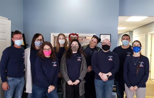 A little hello, from our Hornell, NY Outpatient team!
