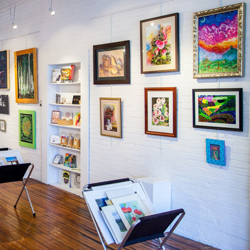 Visit us at The Evelyn Peeler Peacock Gallery at The ARTS Council! *Photo by Chris Walters
