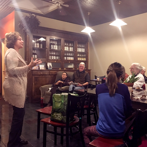 Poests in Play programming at Soul Full Cup Coffeehouse in Corning!