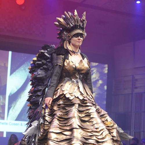 Recycled Runway, our fun &freaky fashion fundraiser! *Photo by Maria Strinni