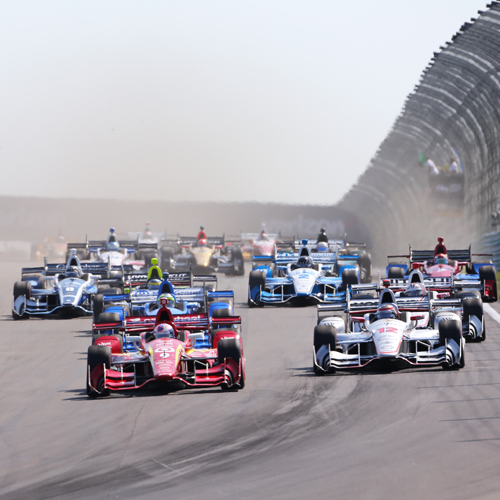 The Verizon IndyCar Series takes the green flag at Watkins Glen International.