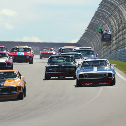 The Glen celebrates its heritage during the annual U.S. Vintage Grand Prix.