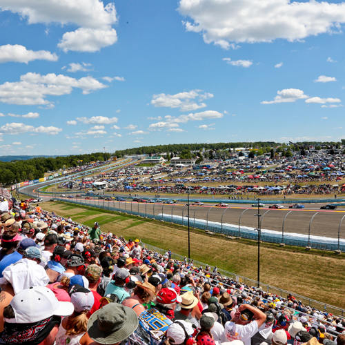 Watkins Glen International boasted sell-out crowds for NASCAR races in 2015 and 2016.