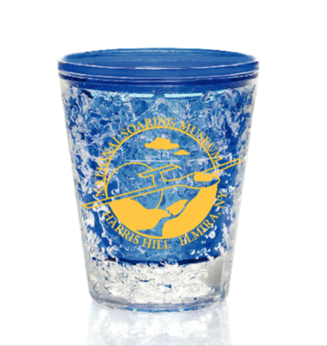 Acrylic shot glasses for the National Soaring Museum