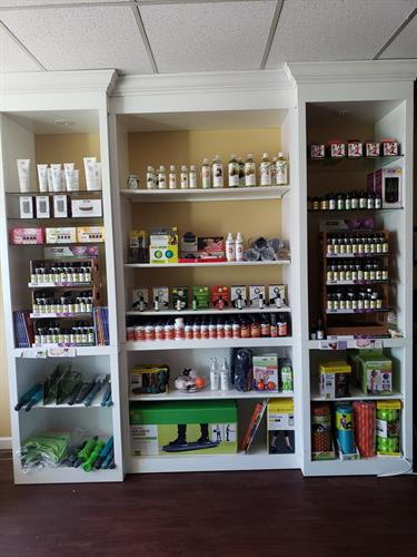 We have a variety of retail products.