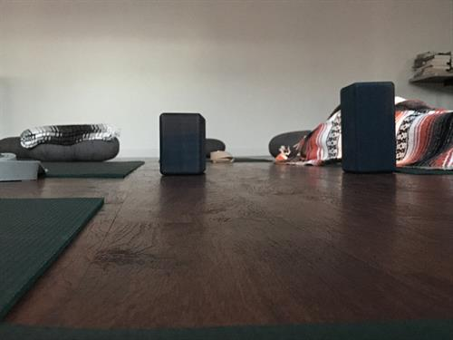 We provide everything you need for your yoga classes here at Trinity Therapeutics Wellness.