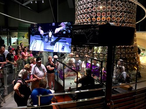Flameworking demonstrations take place all day and are included in admission.