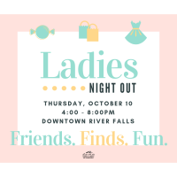 Ladies Night Out River Falls 2019