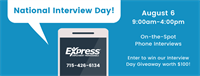 National Interview Day - Interview with Express Employment!