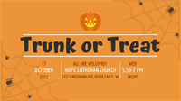 HOPE Lutheran Trunk or Treat