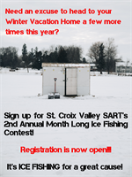 St. Croix Valley SART's 2nd Annual Ice Fishing Contest