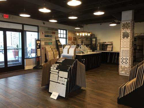 Fanwood Showroom Tile
