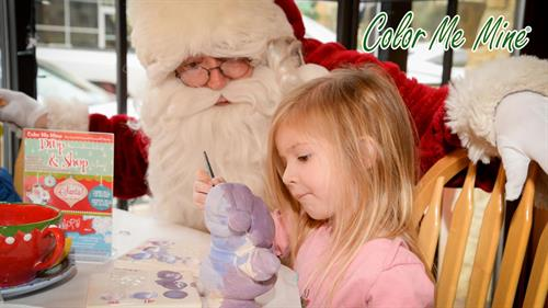 Paint with Santa