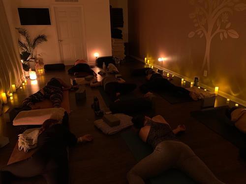 Candlelit Yin Class