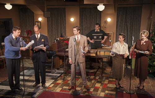"""MST's production of """"It's a Wonderful Life: a live radio play"""""""