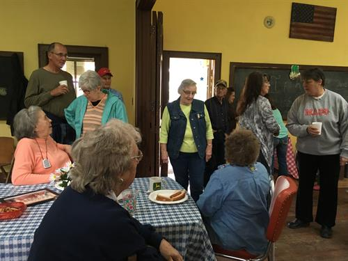 Locals all had a wonderful time and reminisced about days gone by at SRCB