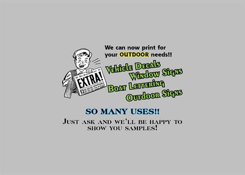 Oudtoor Printing