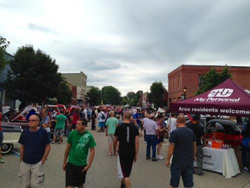 There's nothing like a big event in a small Michigan town.