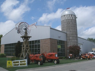 Coopersville Farm Museum was built in 2001