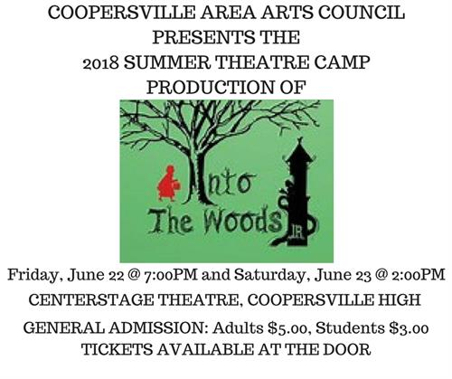 SUMMER THEATRE CAMP 2018 - Next Camp June 10 - 22, 2019